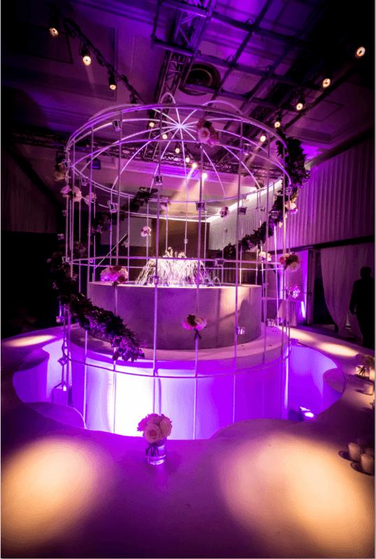 cage XXL fleurie