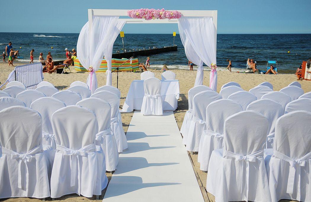 Wesele na plaży Dubois Events