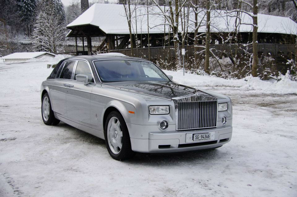 Beispiel: Rolls Royce Phantom, Foto: FirstclassLimos.ch.