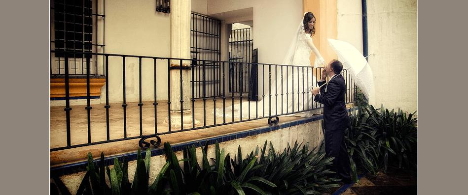 Sevilla de Blanco - Fotógrafo de bodas