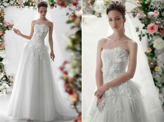 Beispiel: Brautkleider zum Verlieben, Foto: Verinas.