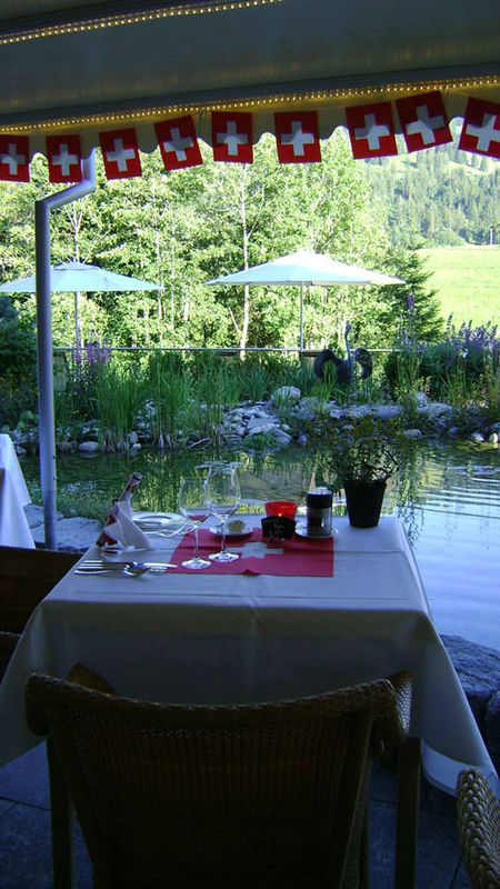 Beispiel: Open-Air Hochzeit, Foto: Hotel Ermitage.