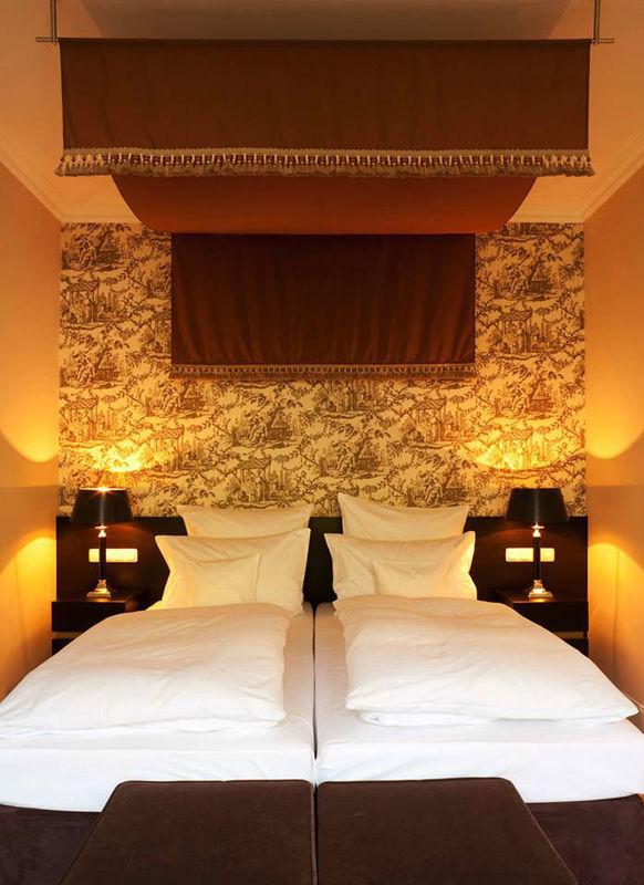 Beispiel: Hotelzimmer, Foto: Romantik Hotel Kieler Kaufmann.
