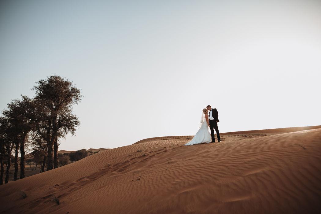 Kuss in der Wüste