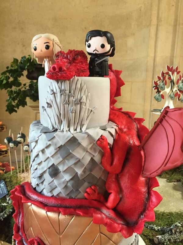 Wedding Cake Thématique - Game of Thrones