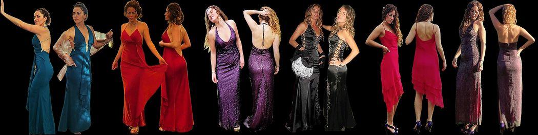 Arriendo de vestidos de fiesta y ocasiones especiales.