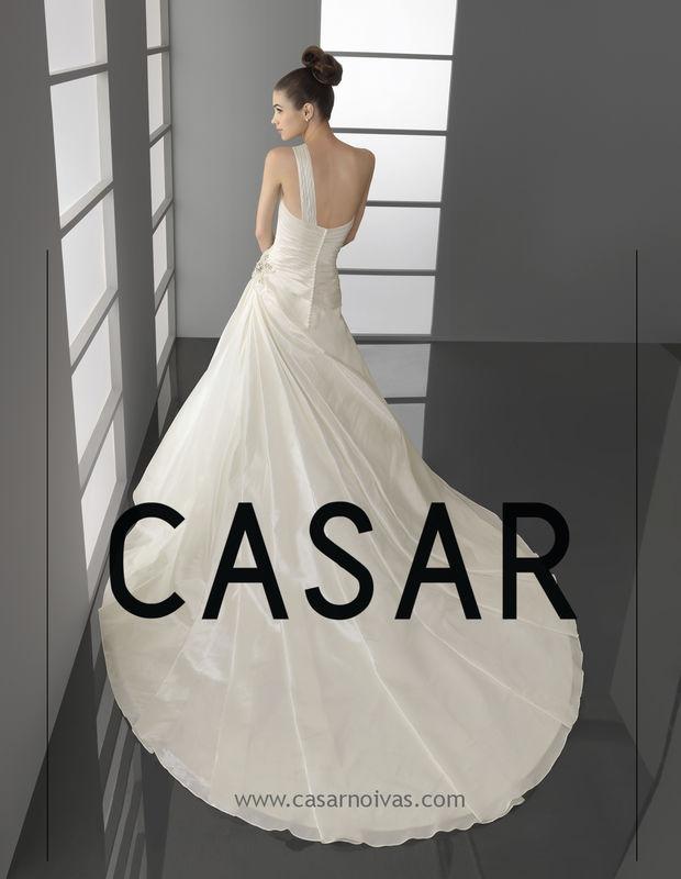 Vestido de noiva Poder PERGAMO  -AIRE BARCELONA