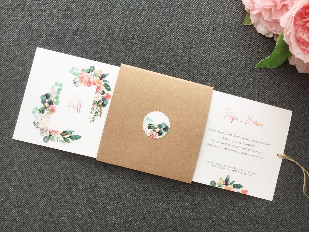Paper Rabbit - Convites