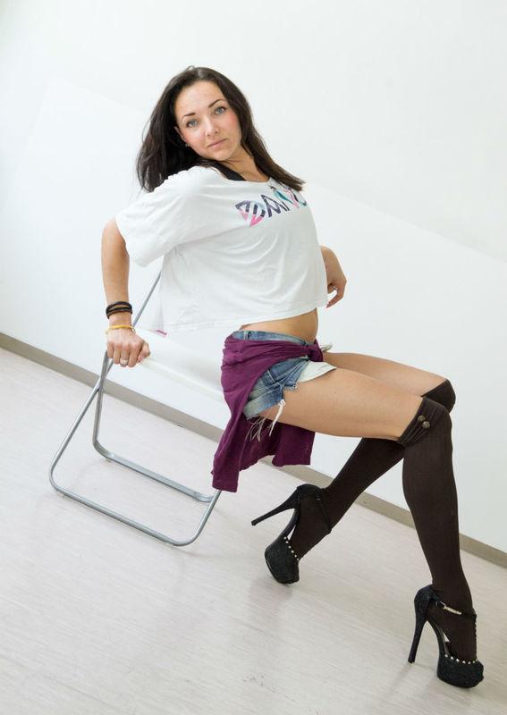 Beispiel: Tänzerin, Foto: Studio B15.