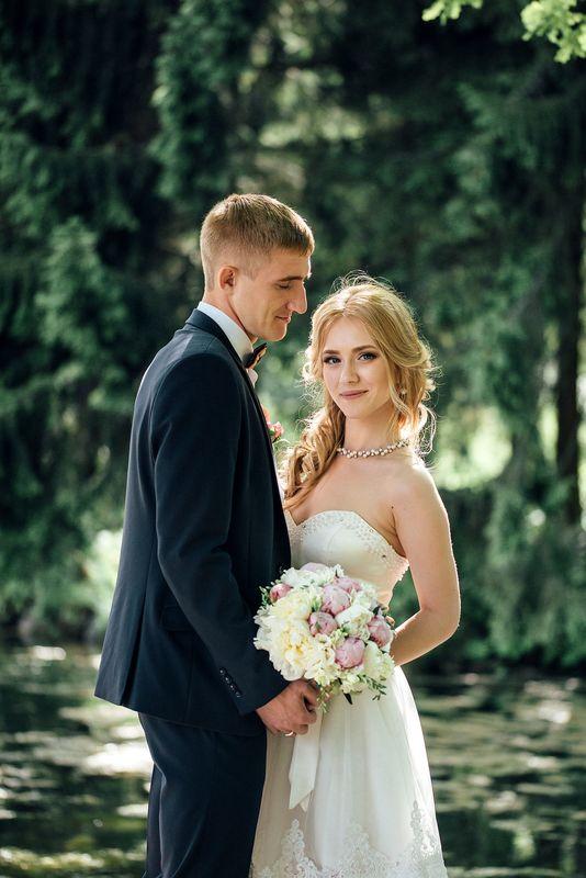Свадебная фотосессия в Екатерининском парке г. Пушкин