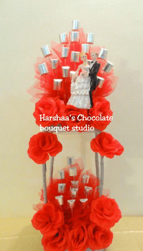 Harshaa's Chocolate & Chocolate Bouquet Studio