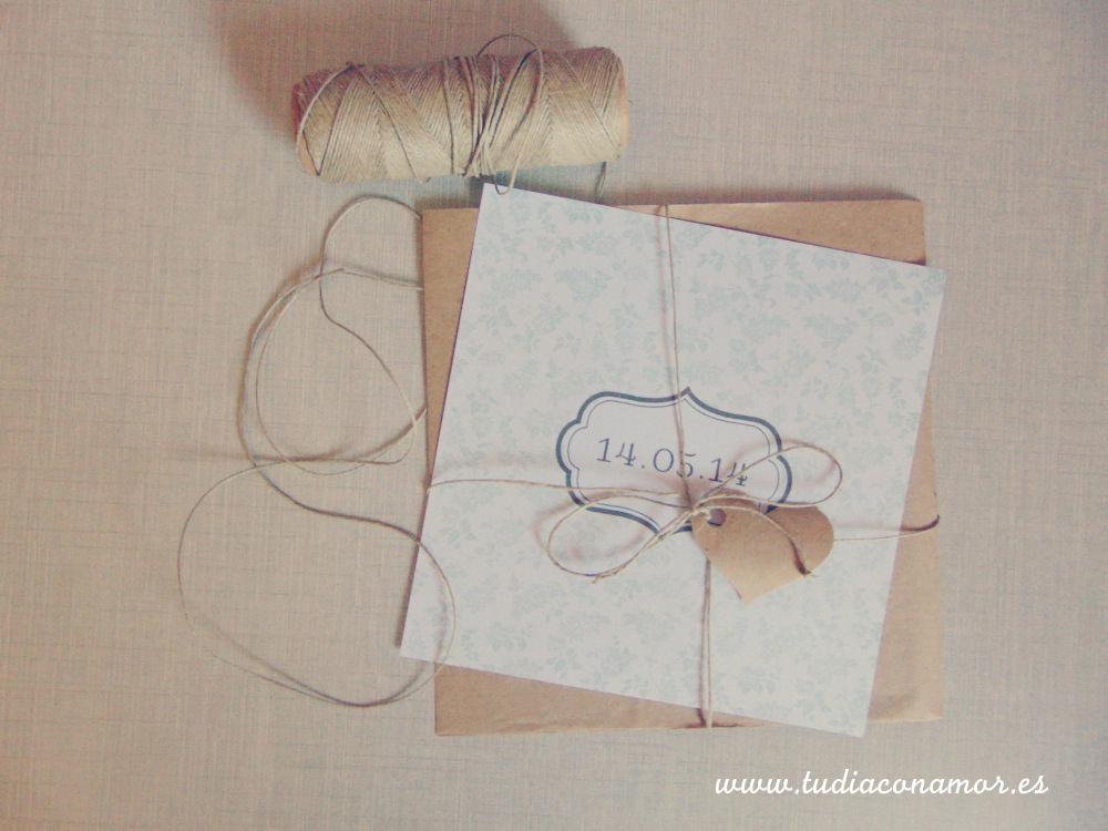 Tu Día con Amor invitaciones