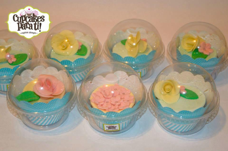 Cupcakes para ti Cupcakes flores y rosas