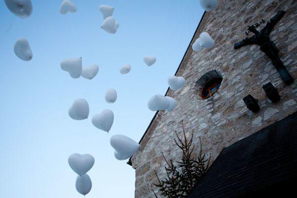 Beispiel: Luftballons, Foto: Hochzeitsorganisation Barbara Donabauer.