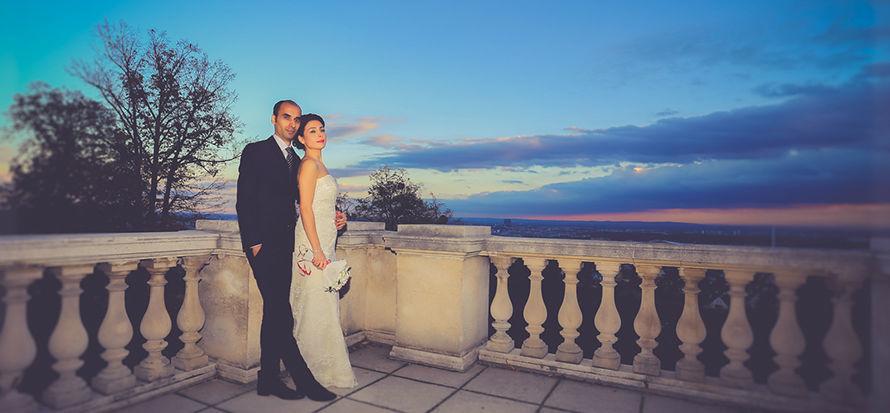 Beispiel: Romantische Hochzeitsfotografie, Foto: Valphotography.
