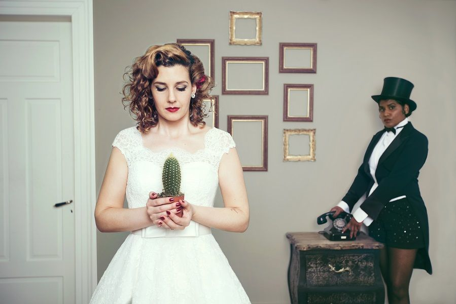 PowderRoom's Vintage Wedding