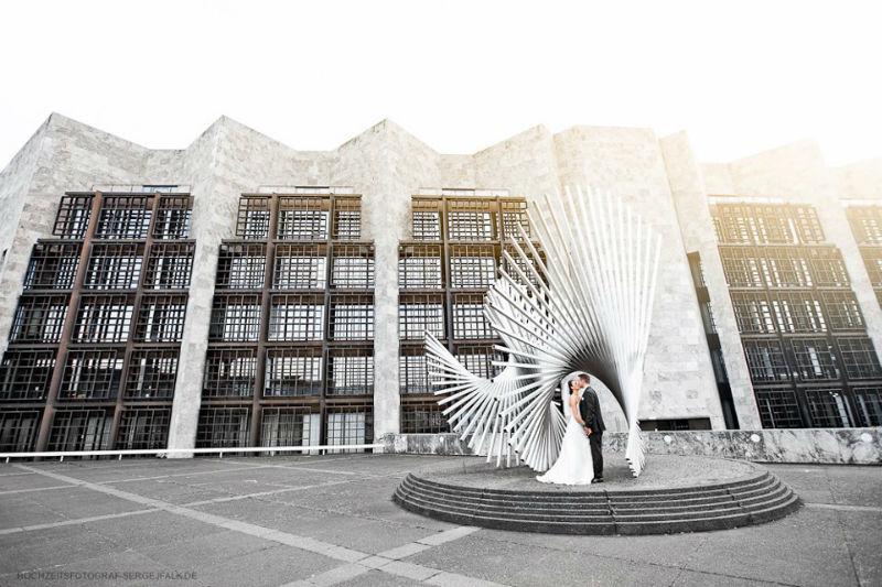 Beispiel: Kreative Fotos von Ihrer Hochzeit, Foto: Sergej Falk.