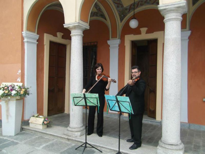 Gli Archimisti : duo di violini per matrimonio sui laghi