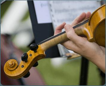 Música clásica para ceremonia o cóctel.