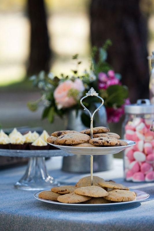 Mesa dulce, detalle cookies