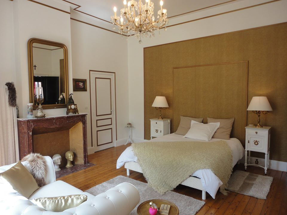 Manoir Le Louis XXI...chambre Dorblanc