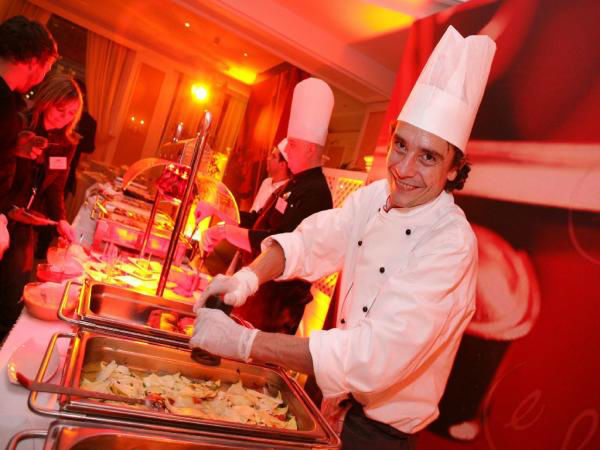 Beispiel: Event-Catering, Foto: Kursalon Wien.