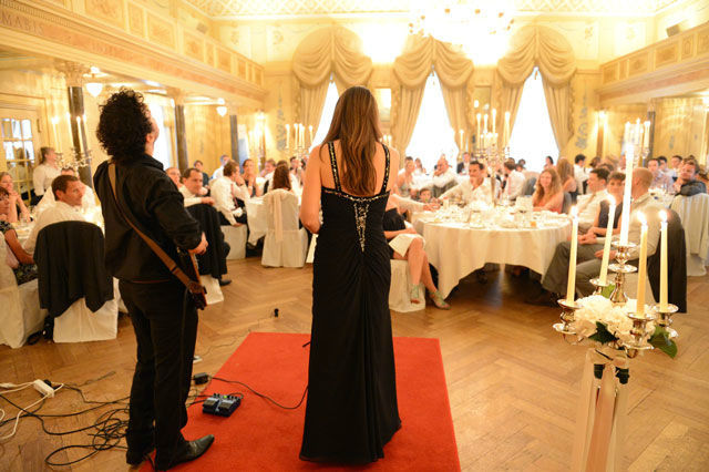 Beispiel: Gesang für Ihre Hochzeitsgäste, Foto: Tabea Vocal.