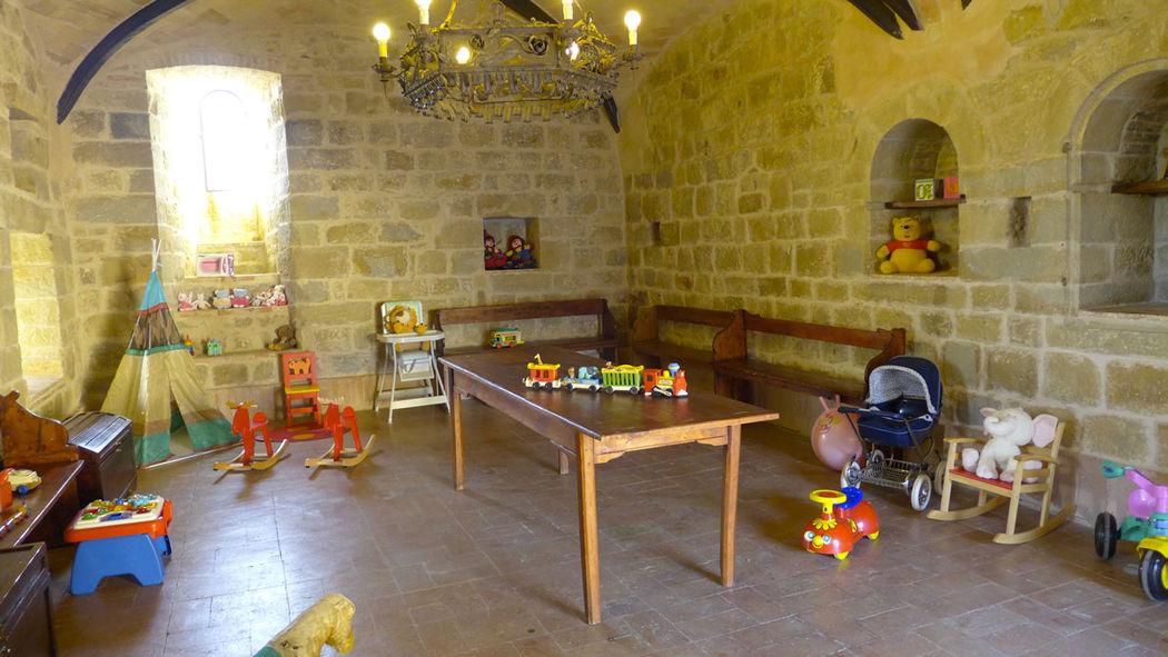 La sala giochi per i più piccoli
