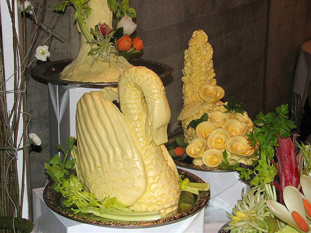 Beispiel: Dekoratives Buffet, Foto: Paiser Catering.