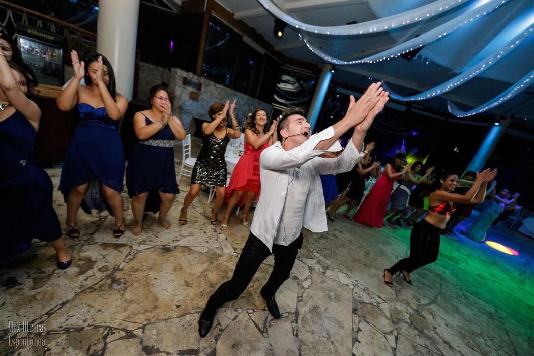 Loreto y Osvaldo fiesta