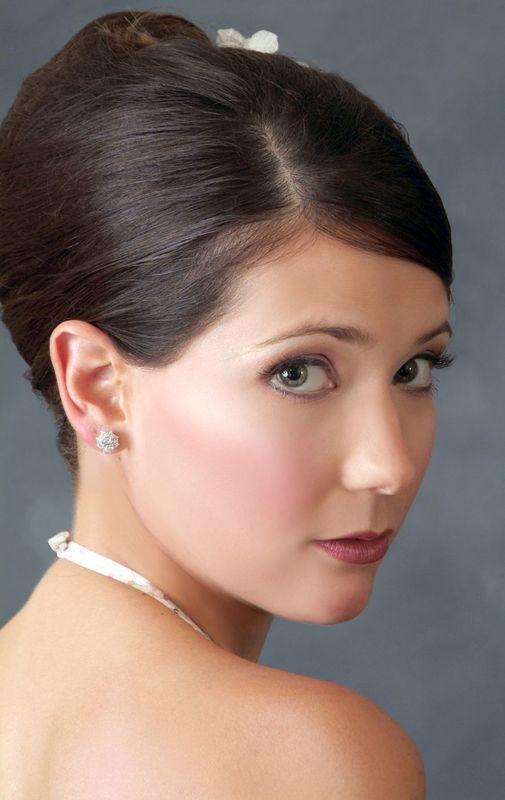 Erika, maquillaje de Ingrid Ackermann