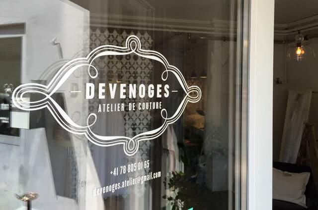 Devenoges atelier de couture