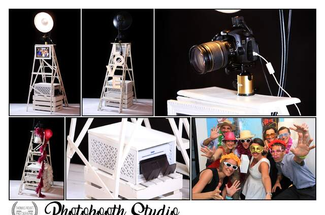 Photobooth Studio Vintage by Thomas Rouet
