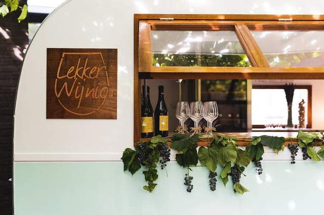 Lekker Wijnig - mobiele wijnbar