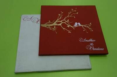 Sumegha's Designer Wedding Cards