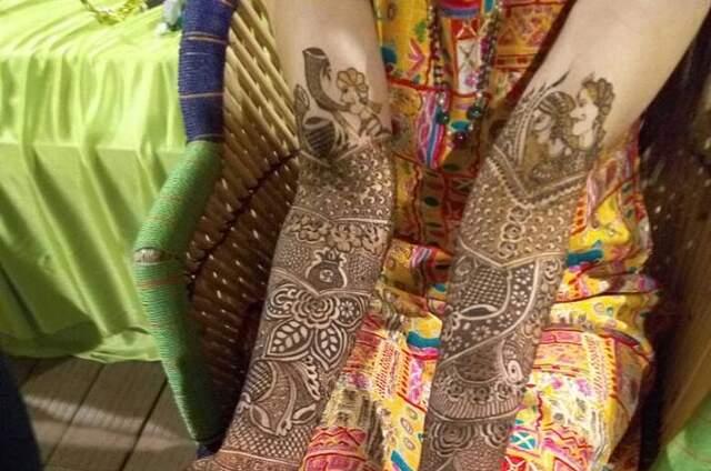 Shilpa Mehandi Art