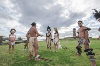 Matrimonios en Isla de Pascua