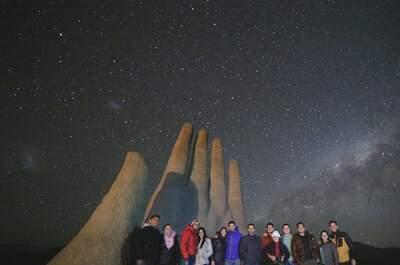 Vía láctea astro tour