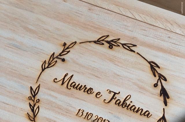 Caixinha Madeira