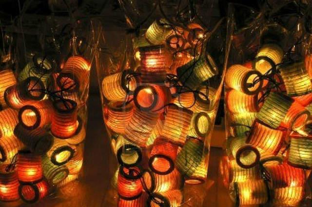 Lanternes Thai