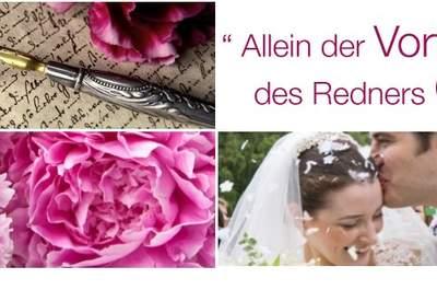 Rede & Reim - Redenschreiberin Hochzeit