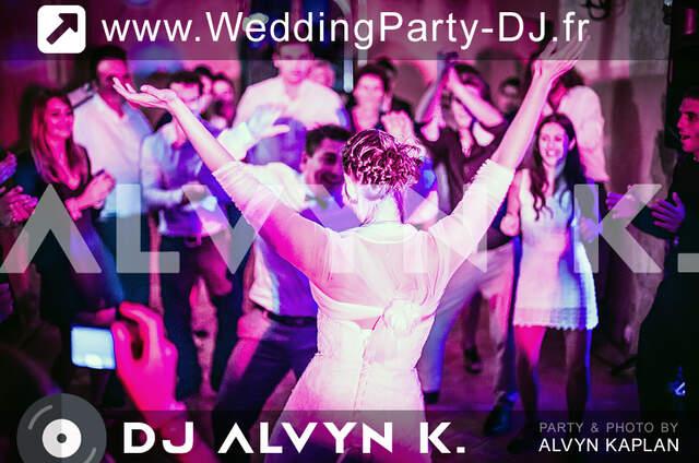 DJ Alvyn K. Wedding Party