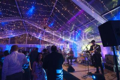 Wedding music and lights