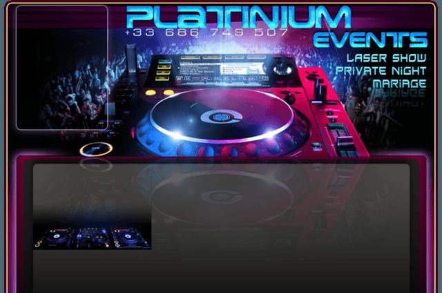 Platinium event's