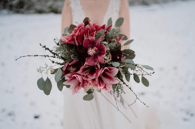 Miscanthus Blumen Dekoration