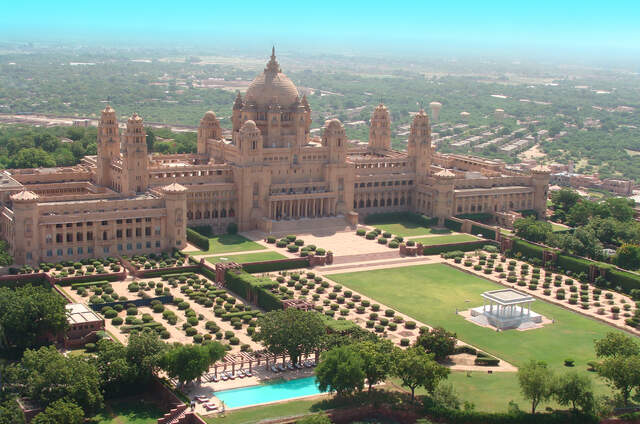 Umaid Bhawan Palace - A Taj Luxury Hotel