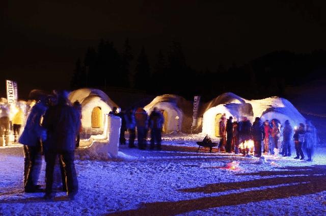Das Alpeniglu Dorf