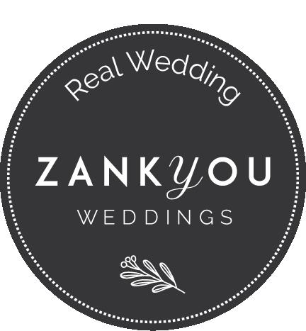 Real wedding publié sur Zankyou