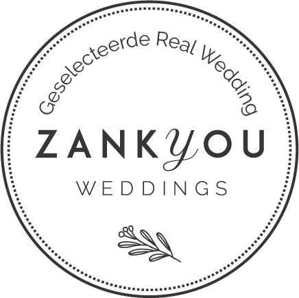 Real wedding gepubliceerd op Zankyou